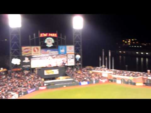 GANGNAM STYLE san francisco GIANTS WIN against san diego PADRES