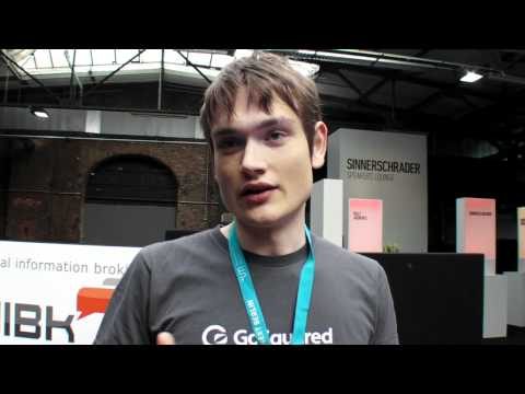 GoSquared real-time analytics for your website at #next12 Next Berlin