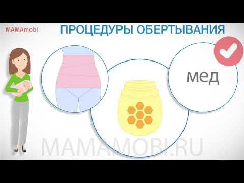 Как похудеть в животе после родов
