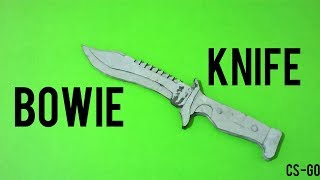 Bowie Knife Yapımı [CS-GO]