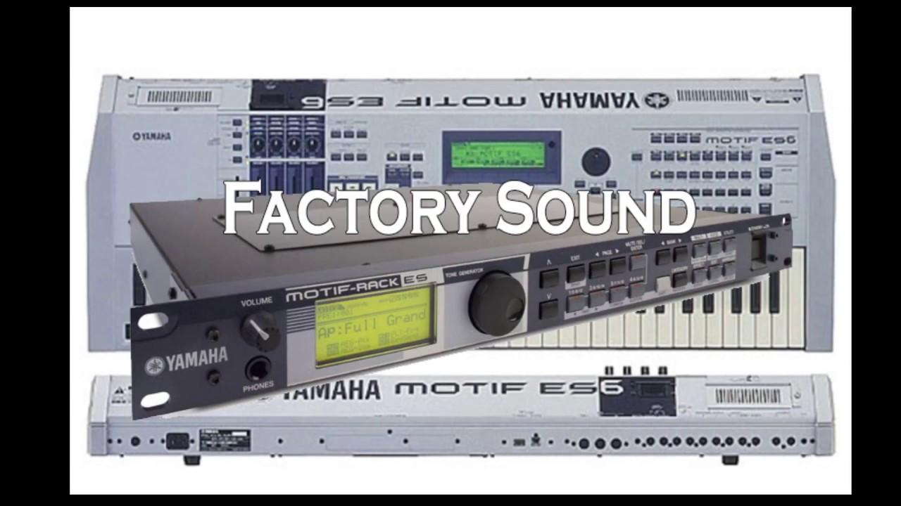 Yamaha Motif Es Demo Rack You