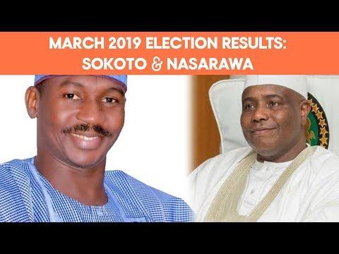 March 2019 Election Results: Sokoto & Nasarawa