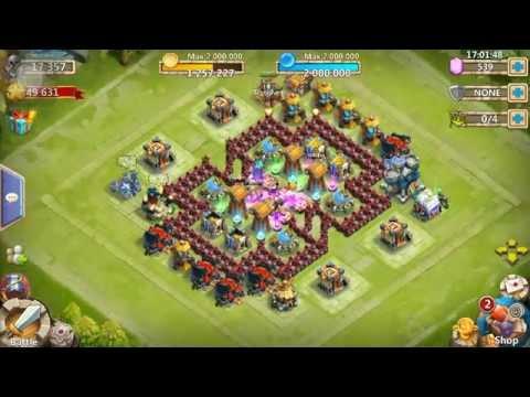 Castle Clash 6th Hero Base!!