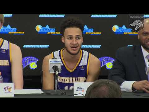 Western Illinois Press Conference vs SDSU (03.09.2019)