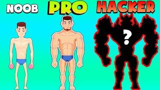 NOOB vs PRO vs HACKER – Tough Man (iOS)