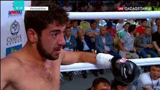 Кәсіпқой бокс: Бобыржан Момынов (6-0-0, 5КО) - Георгий Блиадзе (7-6-0, 2КО)