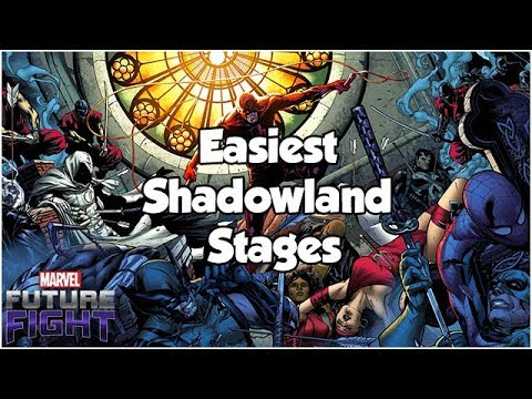 Easiest Shadowland Stages Guide - Marvel Future Fight