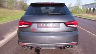 cobra sport audi s1 non resonated cat back performance exhaust system