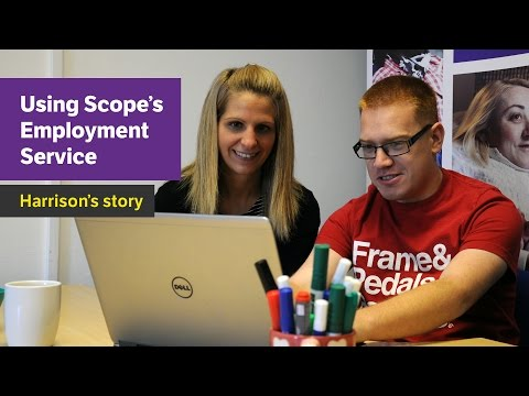Halving The Disability Employment Gap - Harrison's story - Scope video