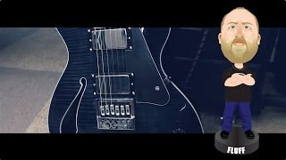 ESP/LTD Ben Weinman BW-1 - Demo