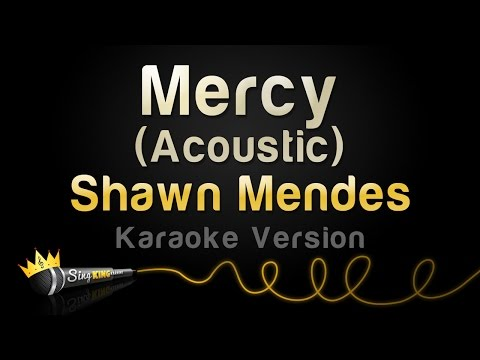 Shawn Mendes - Mercy (Acoustic) (Karaoke...