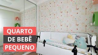 DECORAÇÃO DE QUARTO DE BEBÊ PEQUENO - IDEIAS