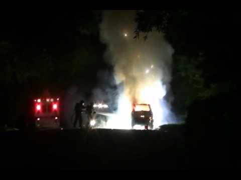 CAR FIRE TRAINING (Magnesium Explosion)