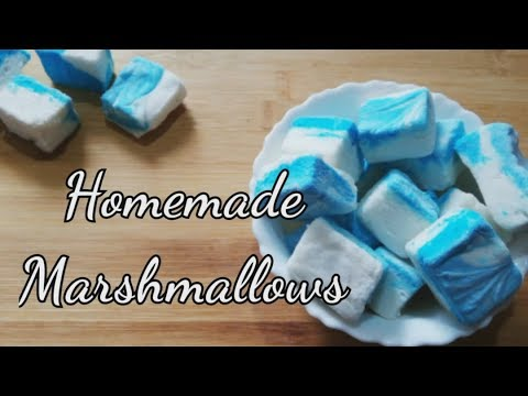 Homemade Marshmallow | Marshmallow Recipe | Marshmallow without corn syrup