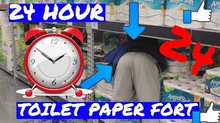 creepy 24 hour overnight walmart fort ⏰ chased by scary security alarm went off almost caught