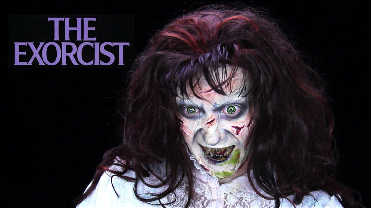 Easy exorcist makeup tutorial youtube.
