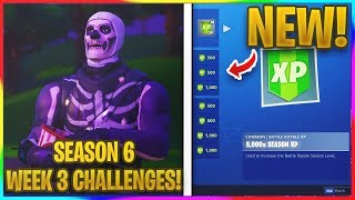 *NEW* WEEK 3 CHALLENGES LEAKED! | Fortnite Season 6 News