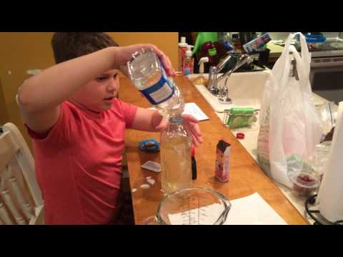 Connors 4th grade Science Experiment