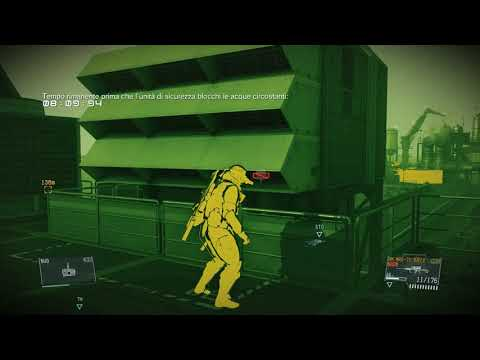Metal Gear Solid V - Defence from Klueze 4