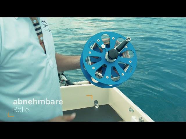 Schleppfischen The Captains Pro Fishing - Schlepprollen
