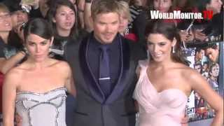 Nikki Reed, Ashley Greene, Kellan Lutz Twilight Breaking Dawn Part II World premiere