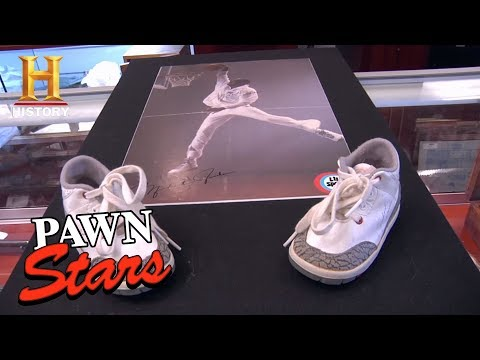 Pawn Stars: Signed Baby Air Jordan 3s (Season 9) | History