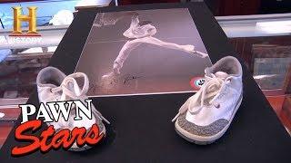 Pawn Stars: Signed Baby Air Jordan 3s (Season 9) | History