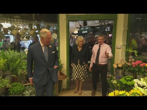Duchess of Cornwall reveals she would love to be a florist