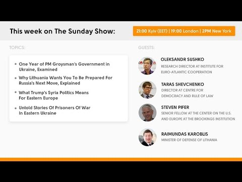 The Sunday Show: One Year Of the Ukrainian PM's Government Reforms