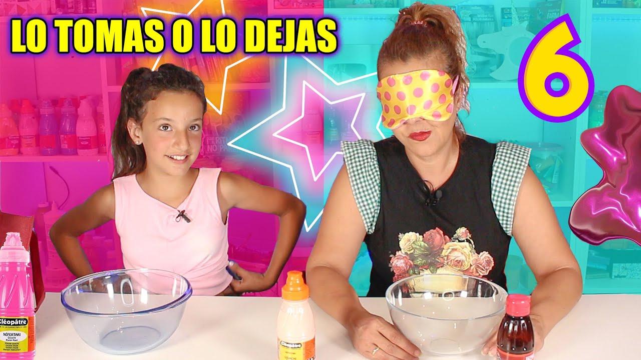 LO TOMAS O LO DEJAS SLIME 6 !! Slime Challenge Videos !