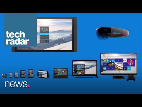 TechRadar Talks - The Many Faces Of Windows 10