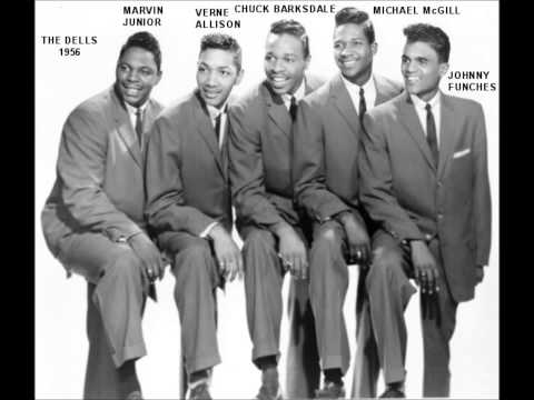 DELLS - DRY YOUR EYES / BABY OPEN UP YOUR HEART - VEE JAY 324 - 1959