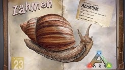 ARK‬: Survival Evolved [GUIDE/Deutsch] ** Achatina - Schnecke zähmen **