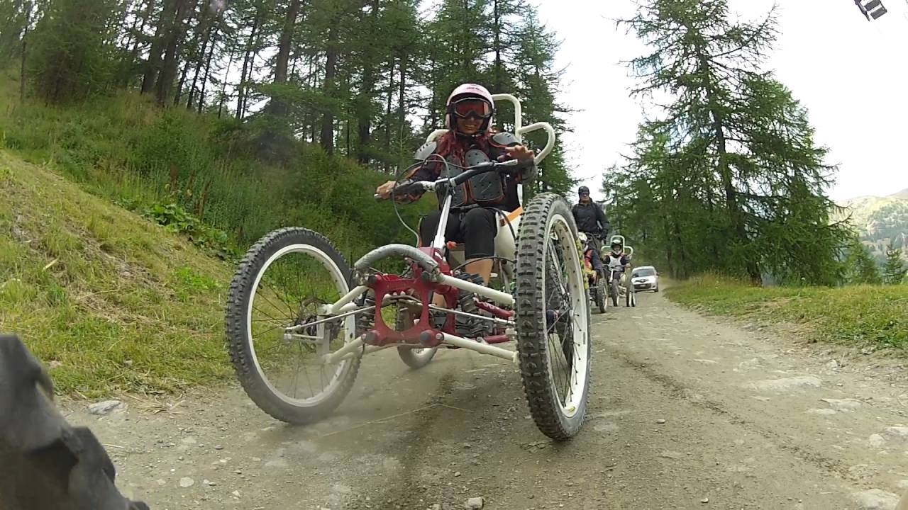 Downhill sestriere 2016 mia discesa 3 parte