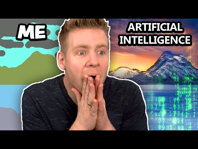 AI can do THIS!??! - Art & Animation with Artificial Intelligence