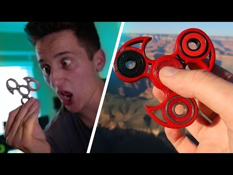 MAKING THE BEST FIDGET SPINNER WITH A 3D PRINTER AGAIN... (Hand Spinners)