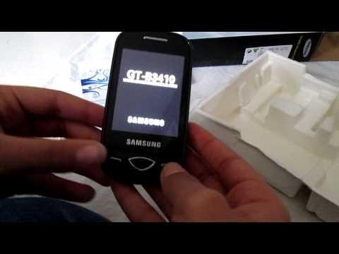 Test : samsung B3410
