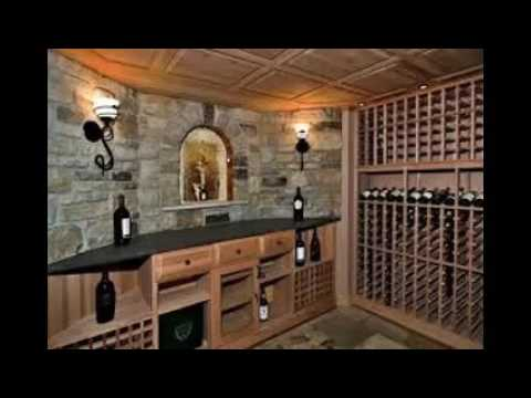 Building a wine cellar underground youtube for Building wine cellar
