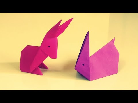 ORIGAMI RABBIT | HOW TO MAKE A PAPER RABBIT | SIMPLE EASY STEP BY STEP