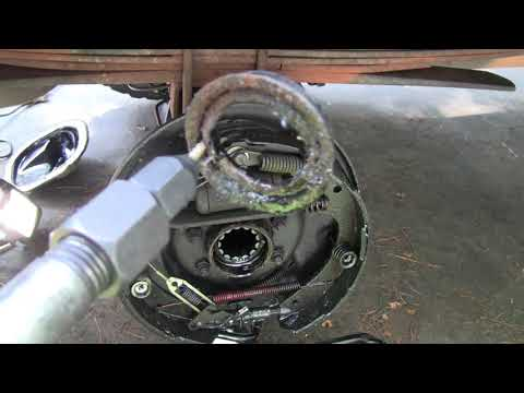 Ford Ranger REAR AXLE REMOVAL And SEAL REPLACEMENT
