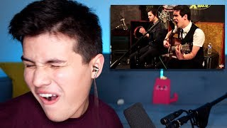Vocal Coach Reaction to Brendon Urie - The Ballad of Mona Lisa (Acoustic)