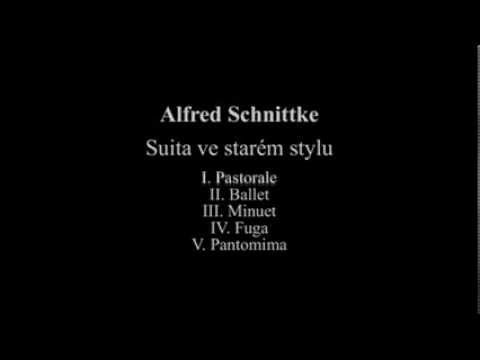 Schnittke: Suite in Old Style (Valečková)