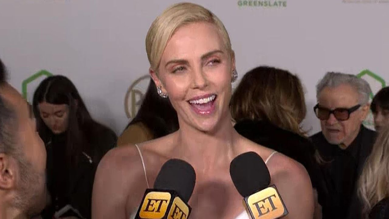 Charlize Theron Reveals She's Taking a Break to Focus on Motherhood | PGA Awards 2020