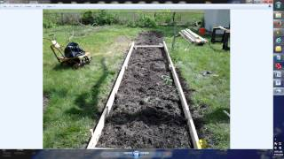 Mittleider Gardening: Building The Grow Bed Frame