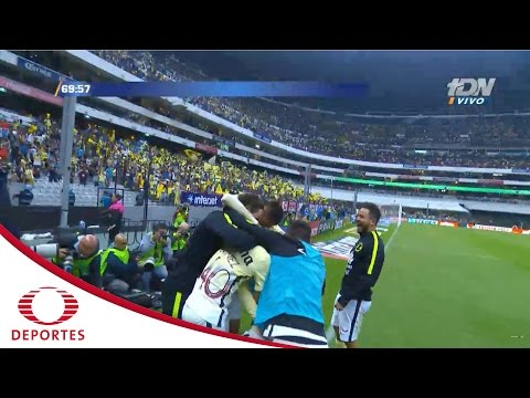 Gol de Manuel Pérez | América 2-2 Pachuca | Clausura 2017 - Jornada 17 | Televisa Deportes