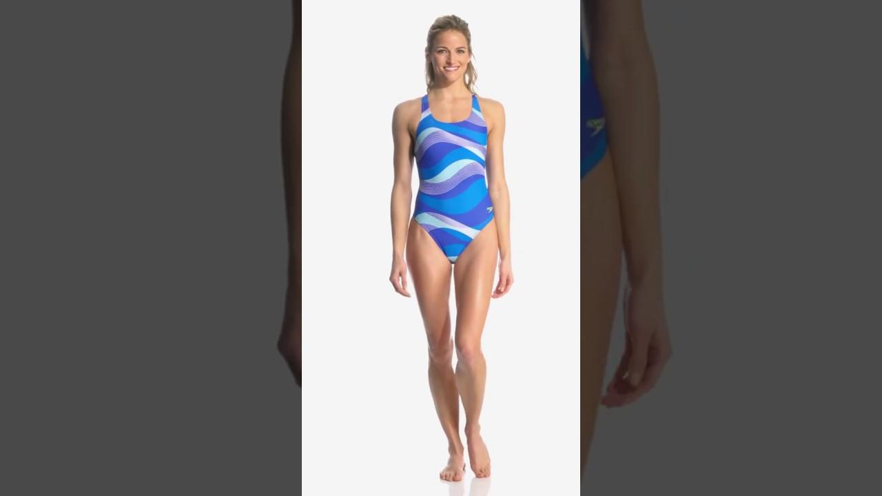 89b92c0df5 Speedo Women's Race Riderz Super Pro One Piece Swimsuit | SwimOutlet.com