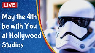 🔴 Live: May the Fourth at Hollywood Studios - Star Wars Day on Batuu