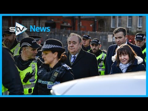 Alex Salmond Leaves Court Ahead Of Trial Next Month