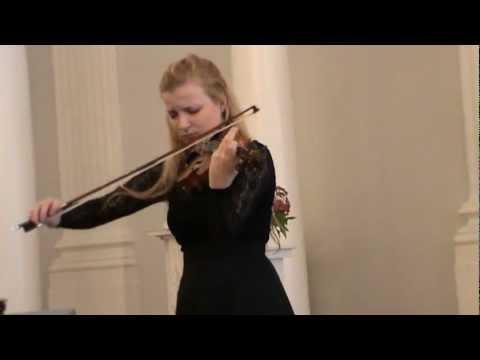 Pablo de Sarasate: Carmen Fantasy, Op. 25.