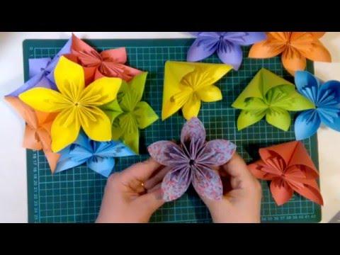 Оригами Кусудама.